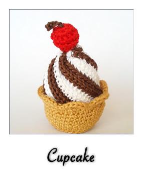 Cupcake Amigurumi Patron Gratis : patron gratis amigurumi cupcake