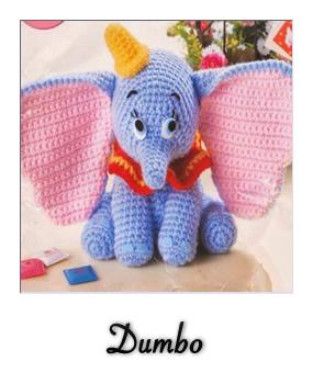 Lambie Amigurumi Patron Gratis : patron gratis amigurumi Dumbo