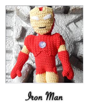 Iron Man – La Madriguera de Ganchillo | 350x285