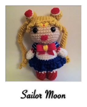 patron gratis amigurumi sailor moon