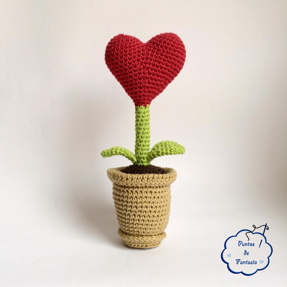 amigurumi planta del amor