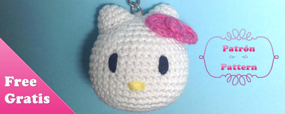Patrón libre de amigurumi Kitty - Puntos de Fantasía - Blog