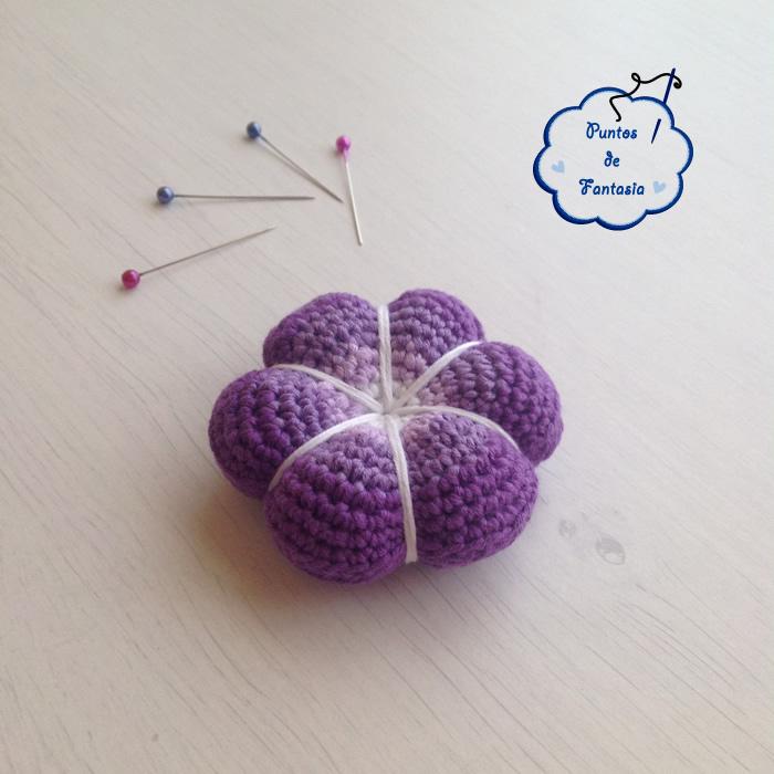 alfiletero flor violeta