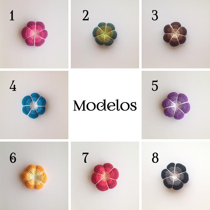 alfileteros flor modelos