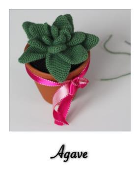 patron gratis amigurumi agave