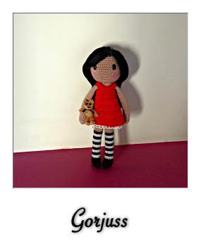 wip Gorjuss Girls 1 and 2 | Crochet doll pattern, Knitted dolls ... | 350x285