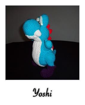 Tejidos THINA - Acá nuestro amiguito Yoshi!! 😃 Patrón... | Facebook | 350x285