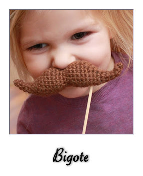 patron gratis amigurumi bigote