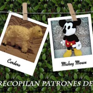 Ya está disponible la nueva recopilación de patrones de amigurumis gratuitos. Esta semana he seleccionado unos vistosos postres diseñados por Cake Sachets, un pequeño ratón cuyo patrón ha sido creado por Little Muggles, un precioso Mickey Mouse de la mano de Amigurumies, y un cordero compartido por K-Crochets.