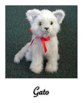 patron gratis amigurumi gato