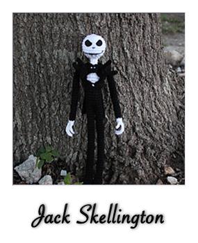 Jack Skellington Free Crochet Pattern • Spin a Yarn Crochet | 350x285