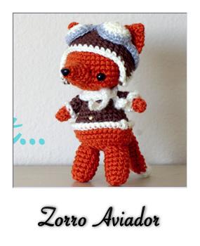 Amigurumi Zorro : patron gratis amigurumi zorro aviador