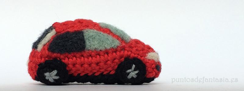 chibi amigurumi coche