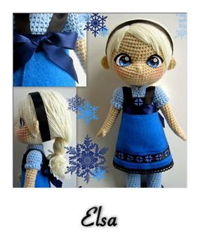 Amigurumi Patron De Elsa : patron gratis amigurumi elsa frozen