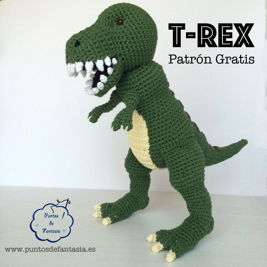 Amigurumi Dinosaurio Patron : Compartir en: