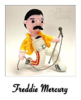 patron gratis amigurumi freddie mercury
