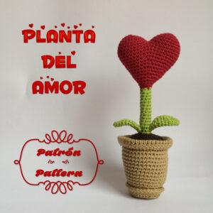 patron amigurumi planta del amor