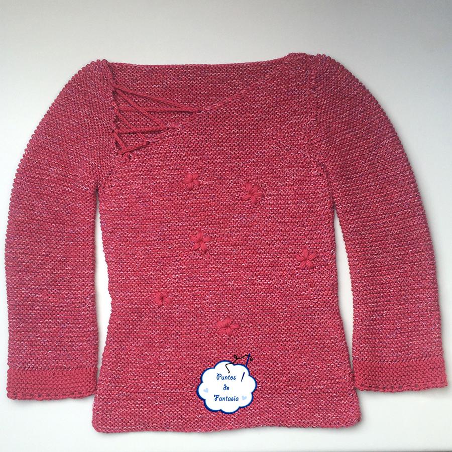 mi primer jersey de tricot