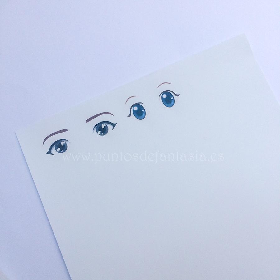 papel transfer con diseño impreso