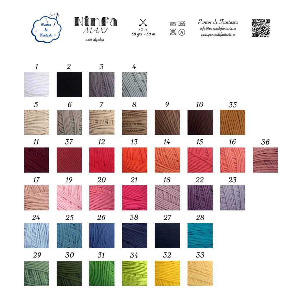 Ninfa Maxi Colores