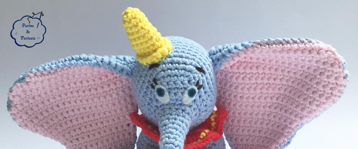 Dumbo Amigurumi - Regalo para Arturo