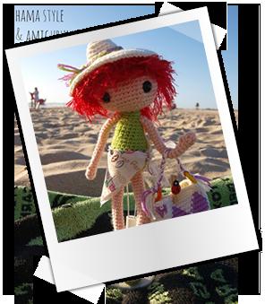 Patrones y tutoriales gratuitos: amigurumi muñeca playera