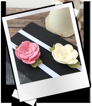 Patrones y tutoriales gratuitos: marcapáginas de fieltro flor