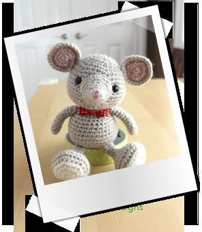 Patrones y tutoriales gratuitos: Ratones amigurumi