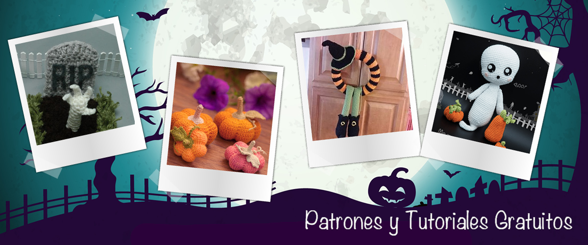 Amigurumis para Halloween - Patrones y tutoriales gratuitos