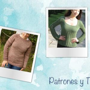 Recopilacion patrones gratis jersey de punto mujer