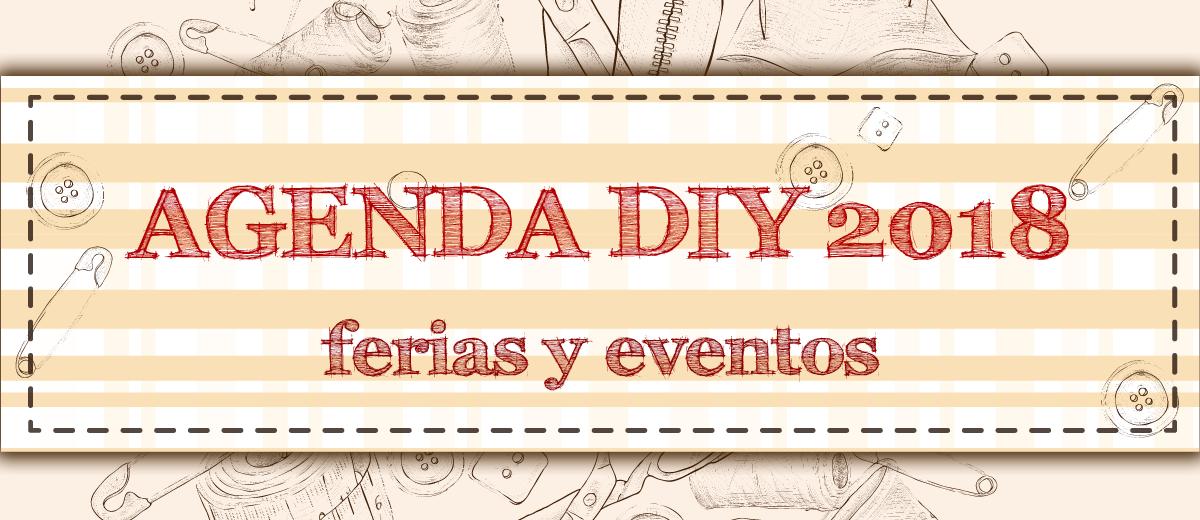 agenda diy 2018 ferias y eventos