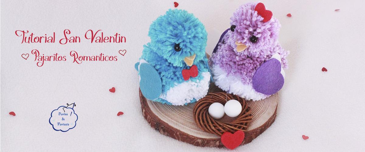 Valentine's Tutorial - Woolen and felt birds