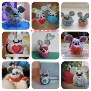 Algunos ratoncitos Pelusin participantes