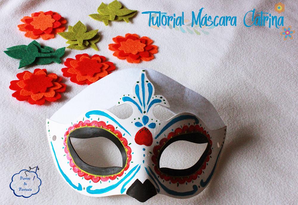 Tutorial de Mascara Catrina