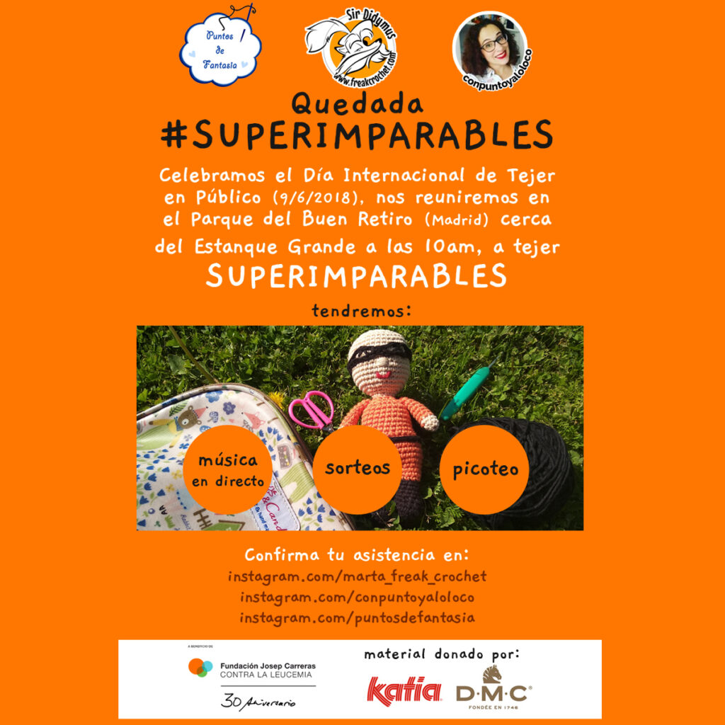 Quedada #SuperImparables en Madrid