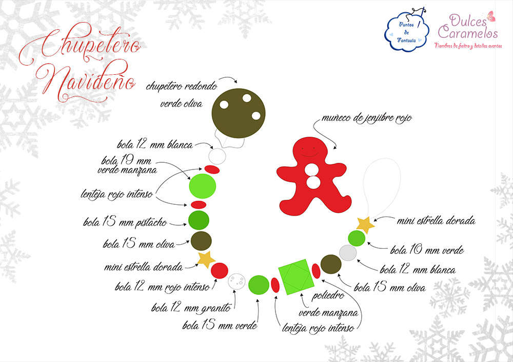 esquema chupetero navidad