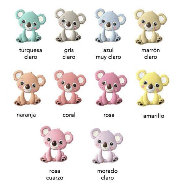 Koala de Silicona alimentaria 90mm