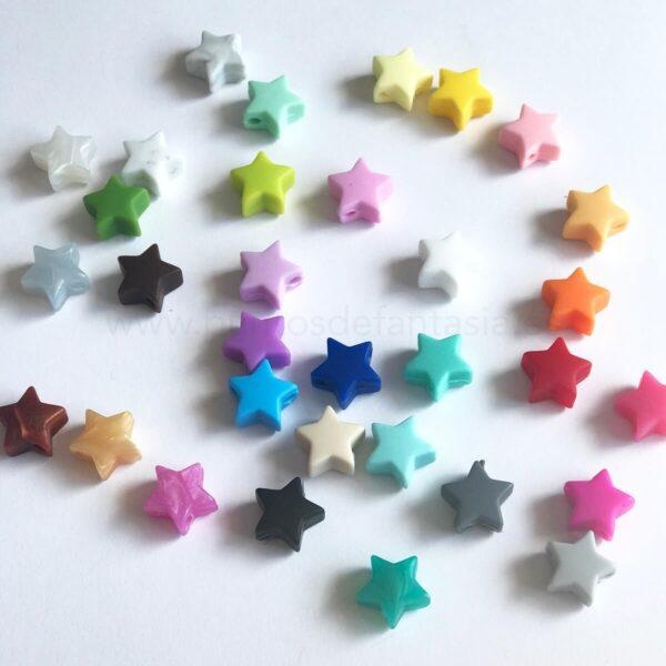 Mini Estrellas de silicona alimentaria