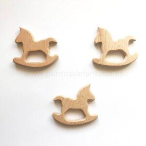 Figura de madera Caballo