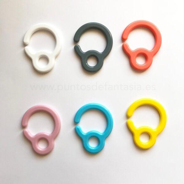Ganchos de plástico 70mm