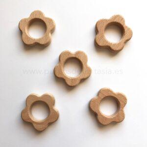 Figura de madera flor