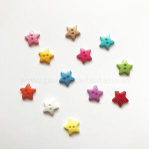 Botones de estrella 12mm