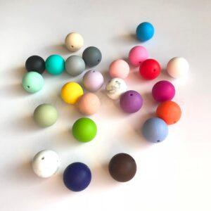 Bolas 19mm de silicona alimentaria
