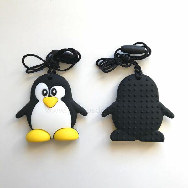Pingüino de Silicona Alimentaria 70mm