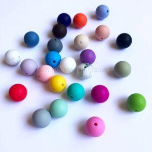 Bolas 16mm de silicona alimentaria