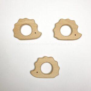 Figura de madera Erizo