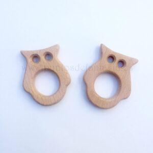 Figura de madera búho