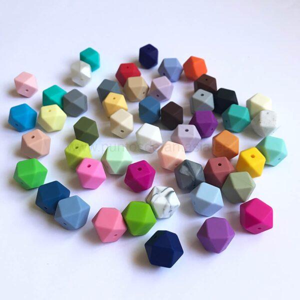 Poliedros de silicona alimentaria 23mm