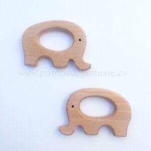 Figura de madera Elefante