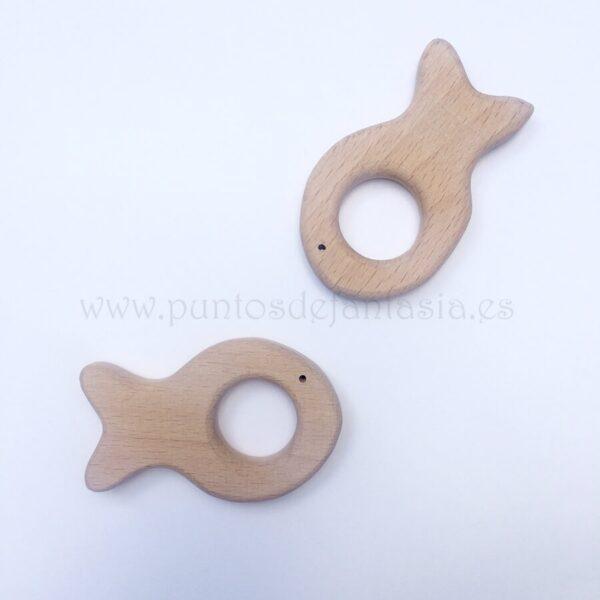 Figura de madera Pez